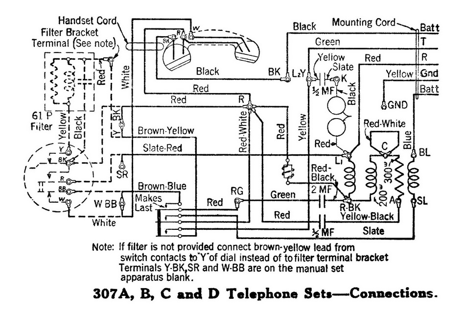 Western Electric Wiring Diagram