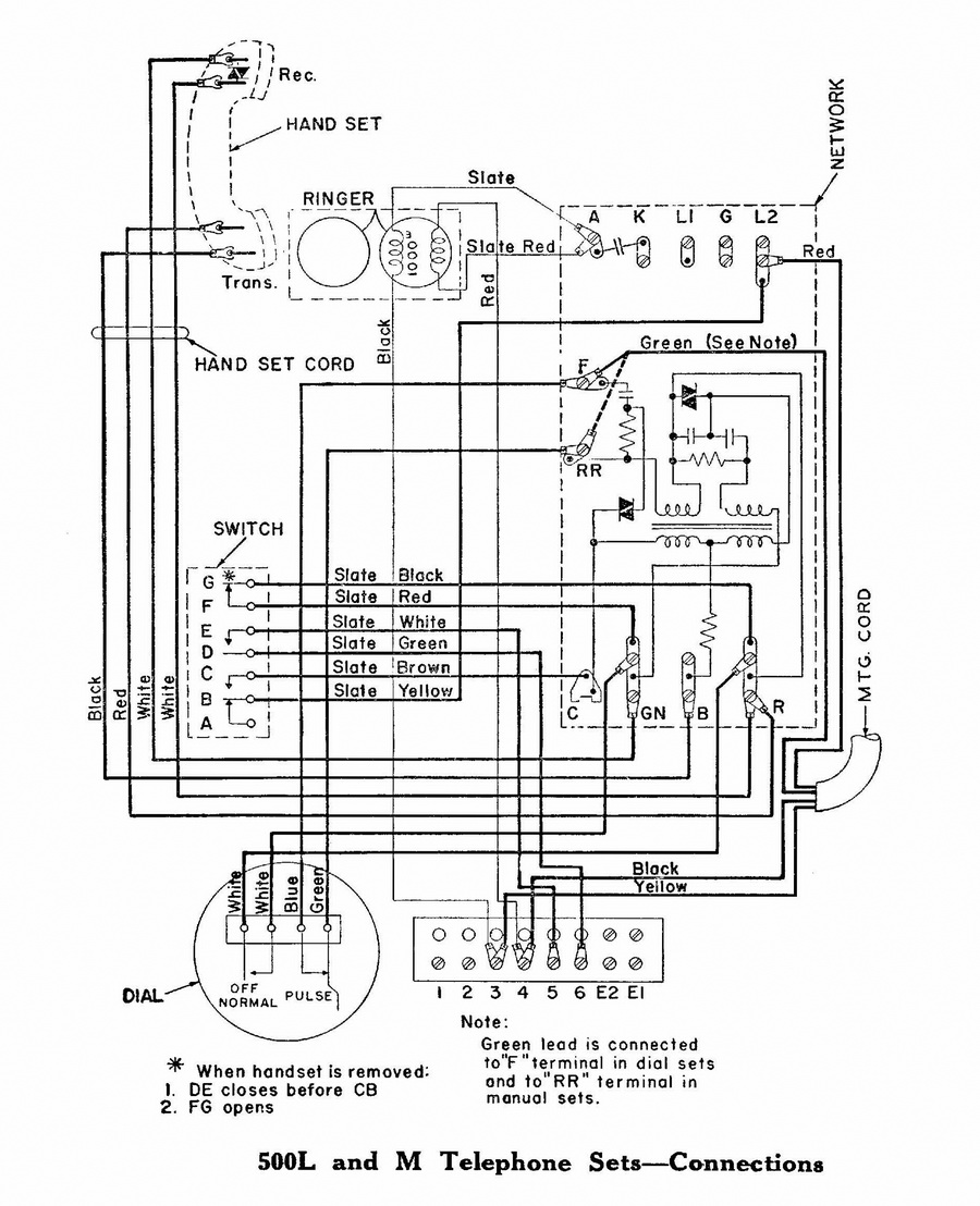 [SCHEMATICS_43NM]  Motorcycle Manuals | Vintage Telephone Wiring Diagram |  | vintage-phones.com