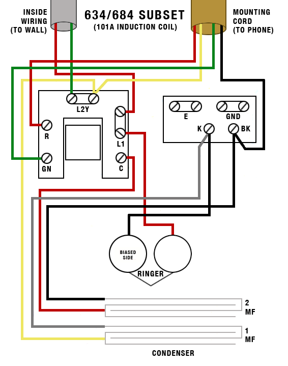 Western Electric Telephone Wiring Diagram on western electric 302 telephone, western electric telephone identification, western electric model 500, rotary dial telephone wiring diagram, phone wiring diagram, home telephone wiring diagram, western electric 500 advertisement, western electric e1 telephone wiring,